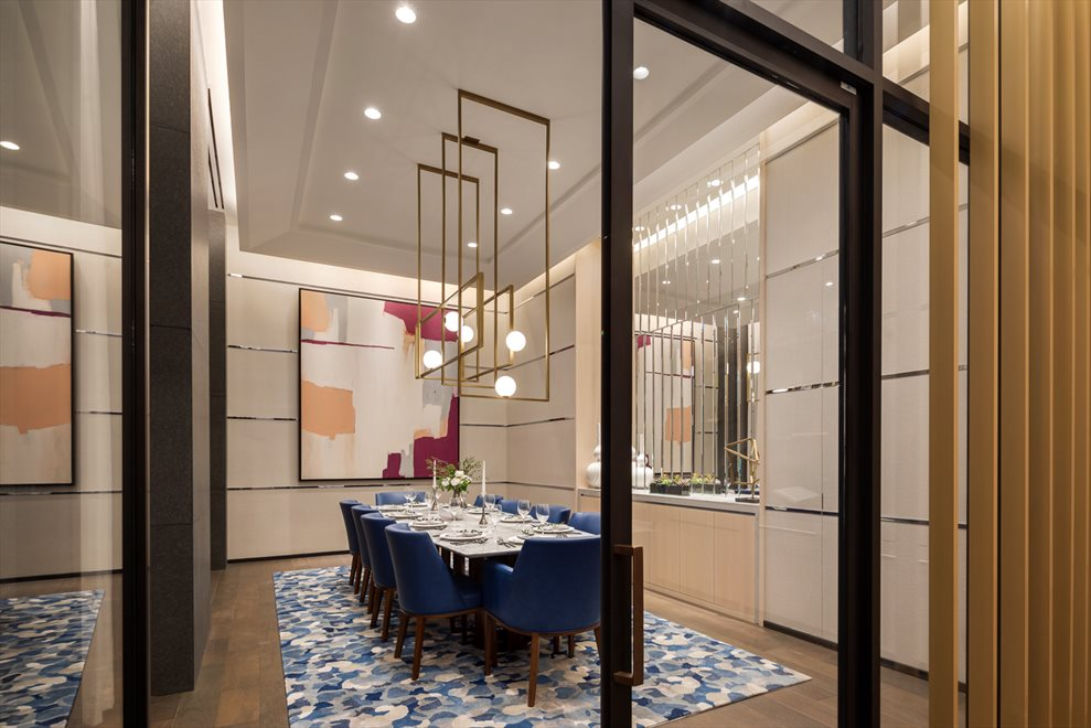 277 Fifth Avenue | Resident's Dining Room