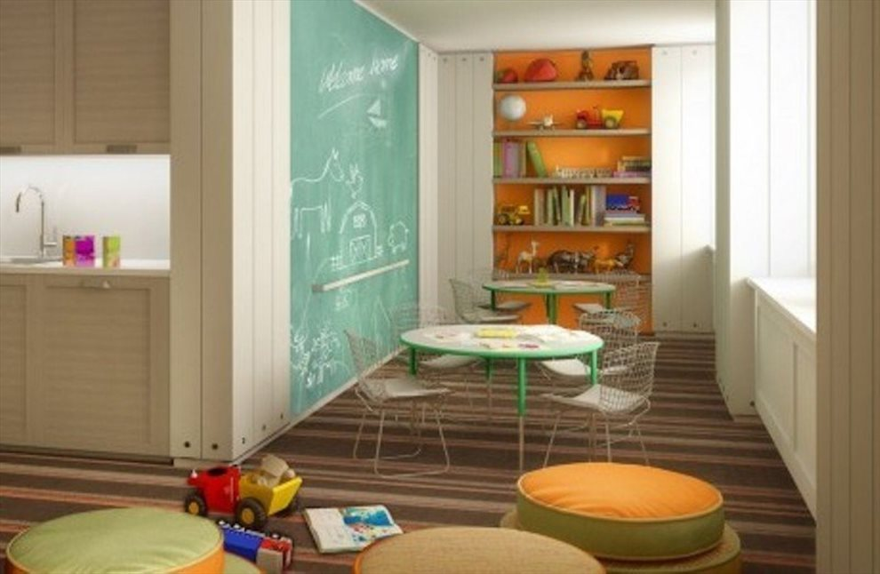 New York City Real Estate | View 1212 Fifth Avenue, #15B | Children's Playroom
