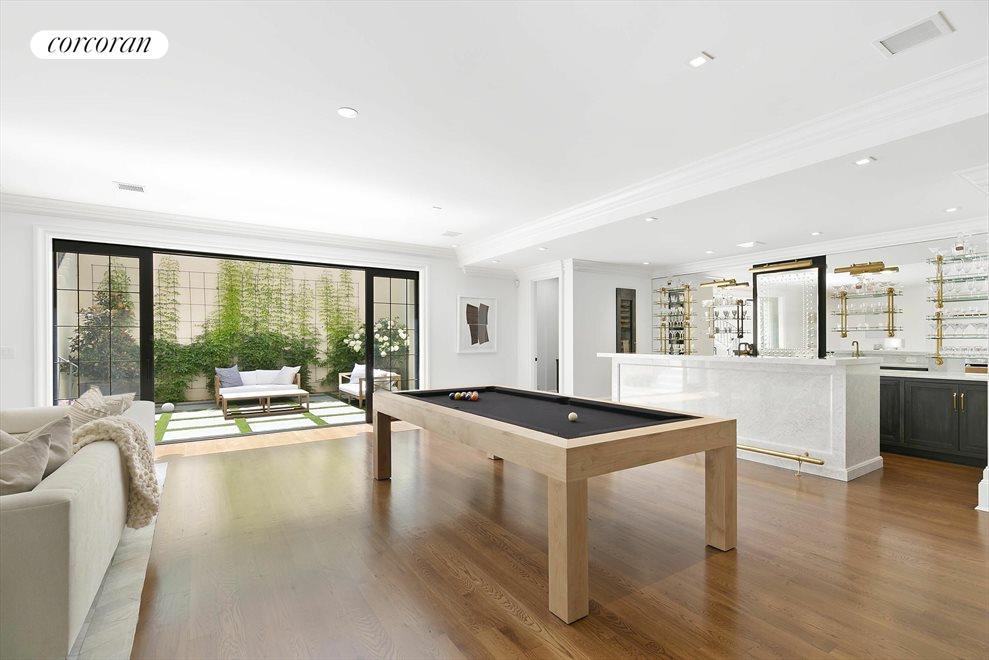 lower level recreational room