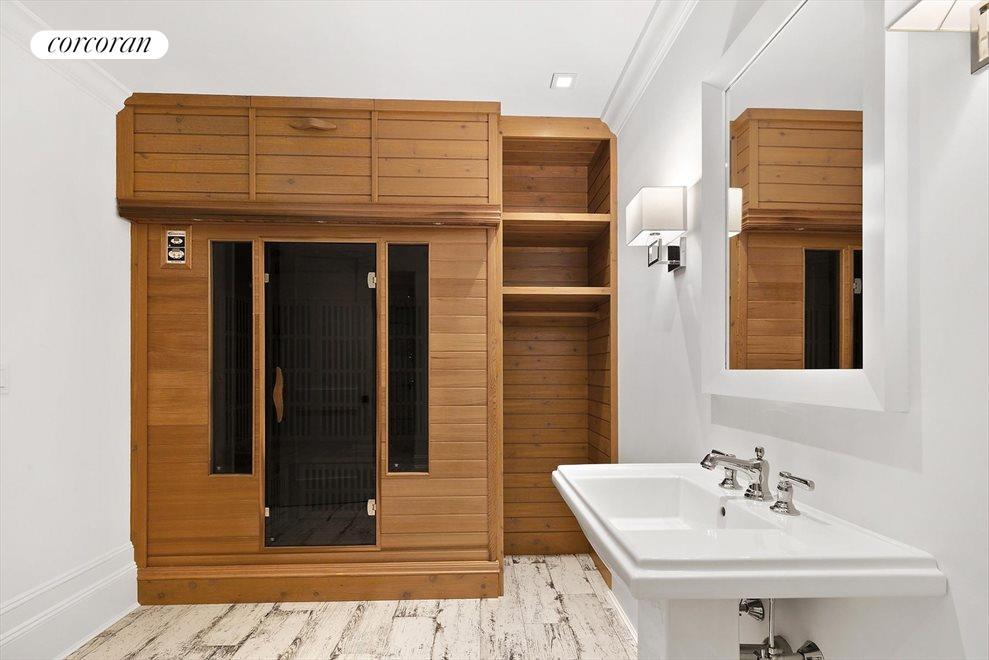Spa Bathroom with Sauna