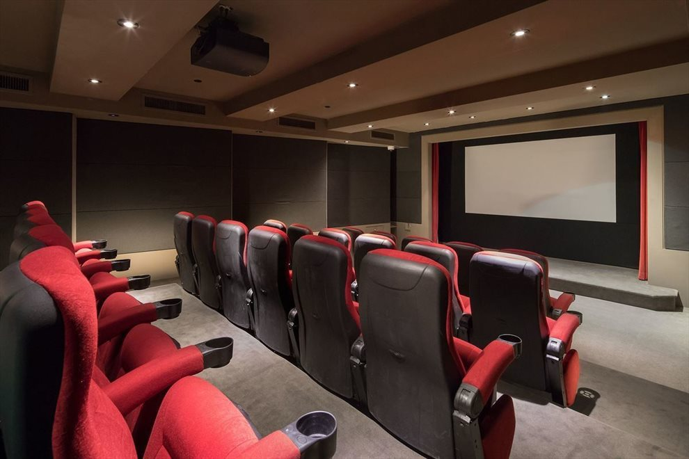 24 Seat Screening Room