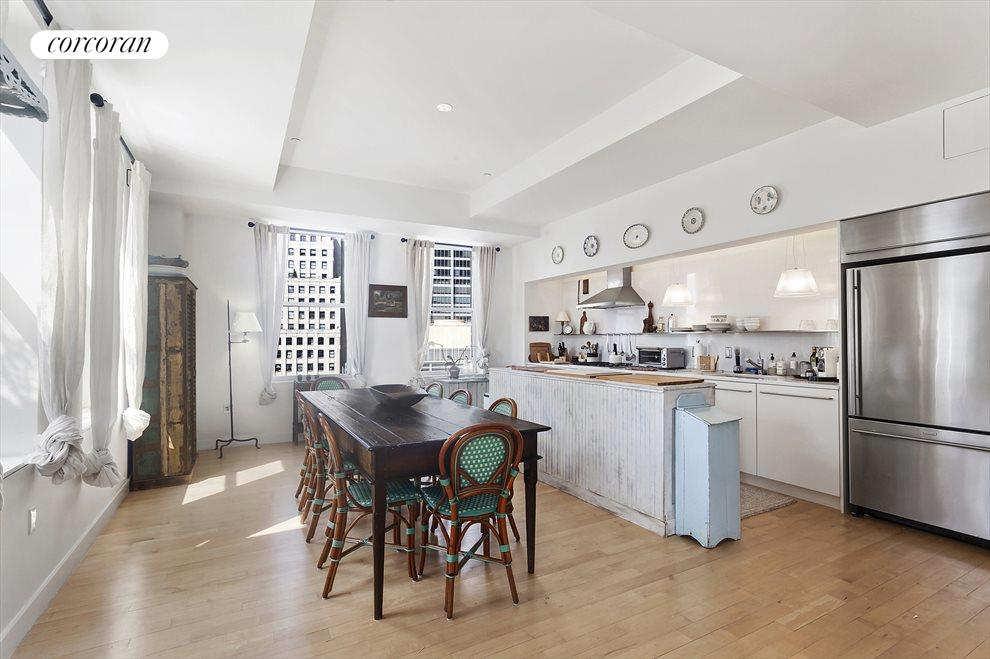 Open Kitchen with Counter