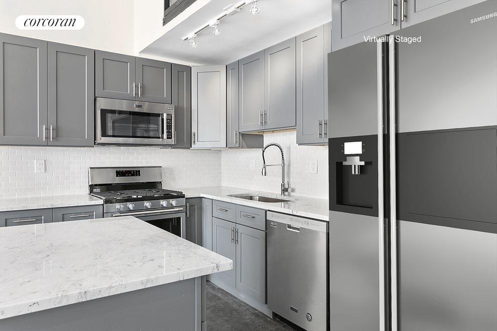 Brand New Kitchen - Not Staged