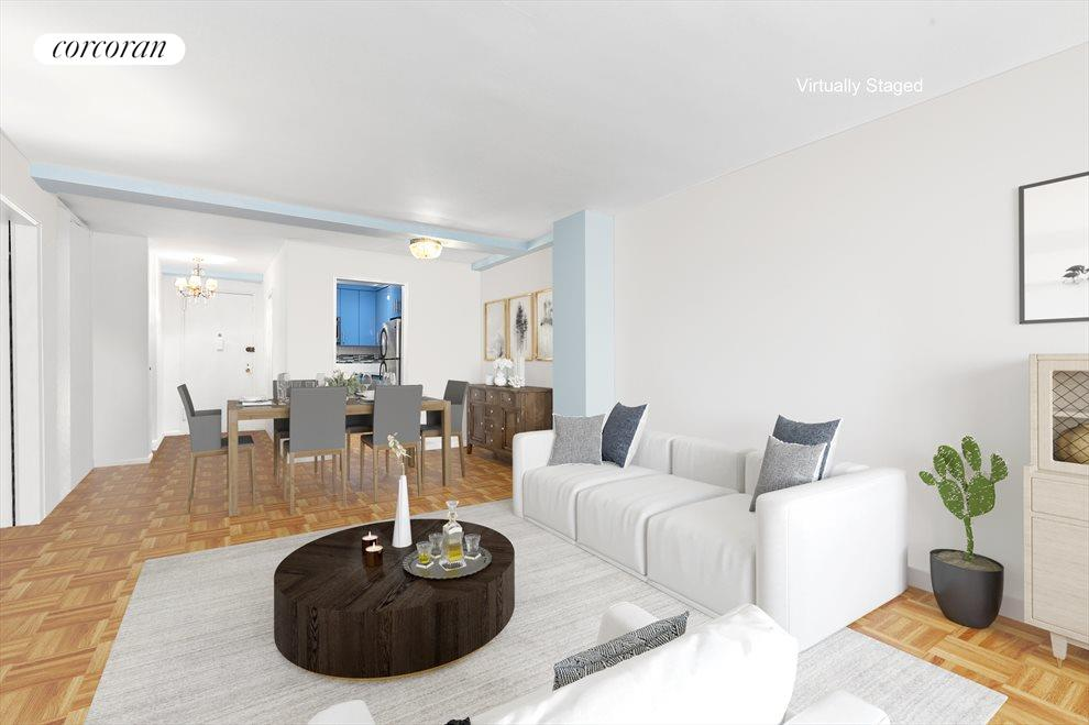Spacious and sprawling living/dining room!