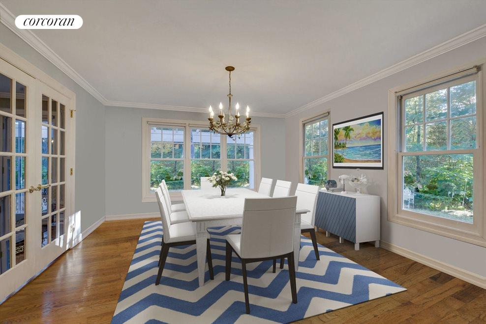 VIRTUAL RENDERING OF THE DINING AREA