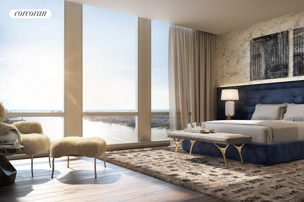 Corner Master Bedroom Suite
