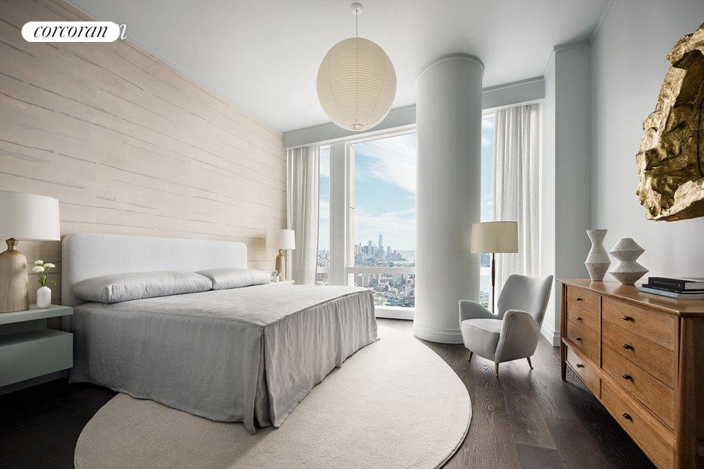 Master Bedroom Suite with views to the south