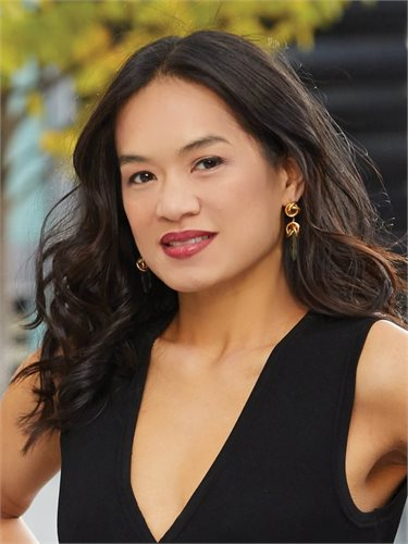 Julie Pham, a top realtor in New York City for Corcoran, a real estate firm in Chelsea/Flatiron.