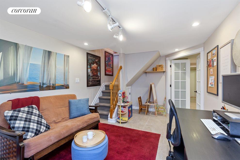 Bonus room for extra living space