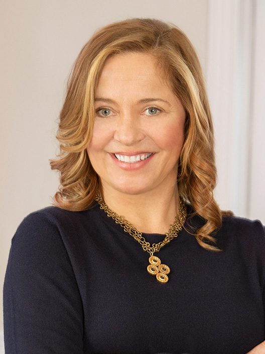 Anja Breden, a top realtor in The Hamptons for Corcoran, a real estate firm in Sag Harbor.