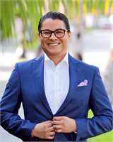 Marlon Alfaro, a top real estate agent in South Florida for Corcoran, a real estate company in Palm Beach.