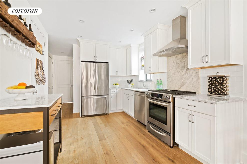 Kitchen is a chef's dream with high-end appliances