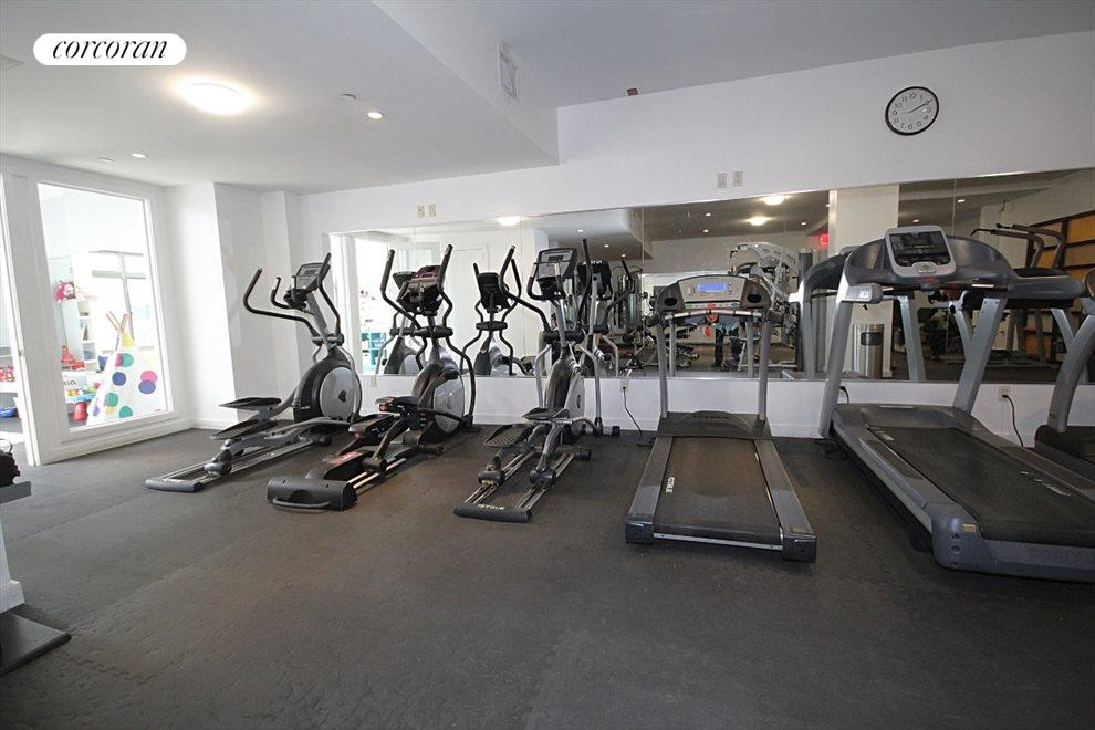 Very Well-Equipped Fitness Center!