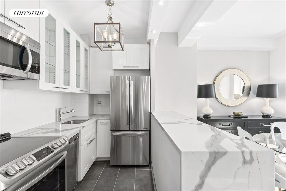 New York City Real Estate | View 1 Fifth Avenue, #3J | Open Chef's Kitchen