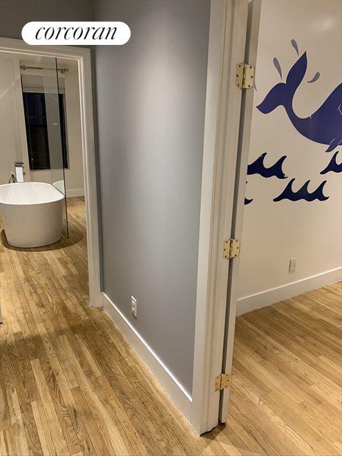Flex space, used as office/den or nursery