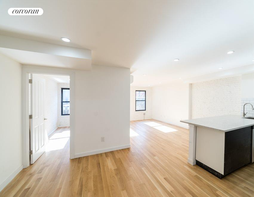 New York City Real Estate | View 1414 Saint Marks Avenue, #1 | Living and dinning area