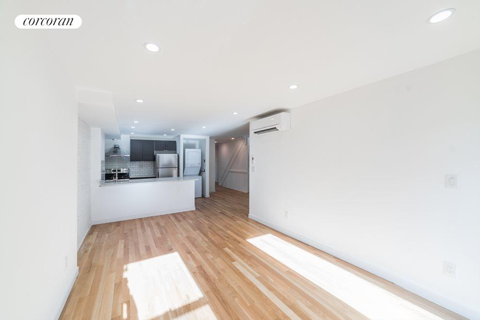 New York City Real Estate | View 1414 Saint Marks Avenue, #1 | Living area drenched with sun