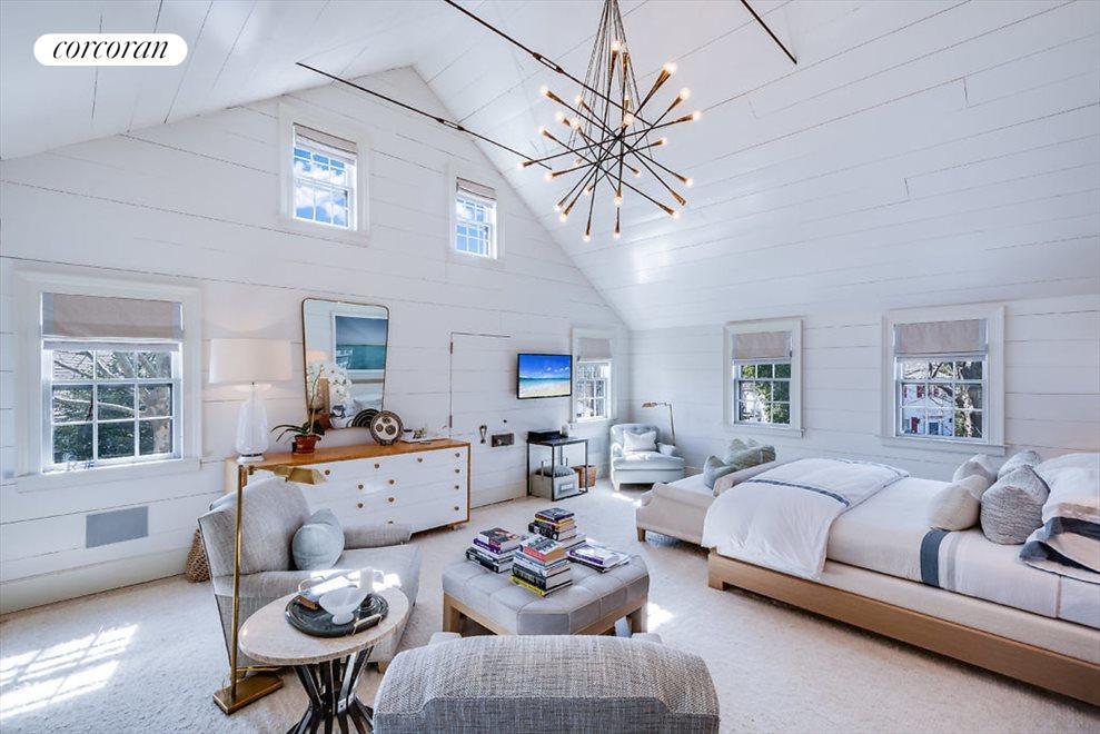 Spectacular master bedroom suite
