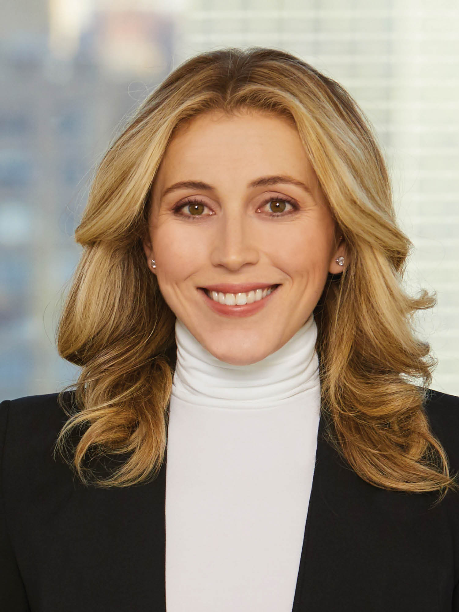 Christine Calvo, a top realtor in New York City for Corcoran, a real estate firm in SoHo.