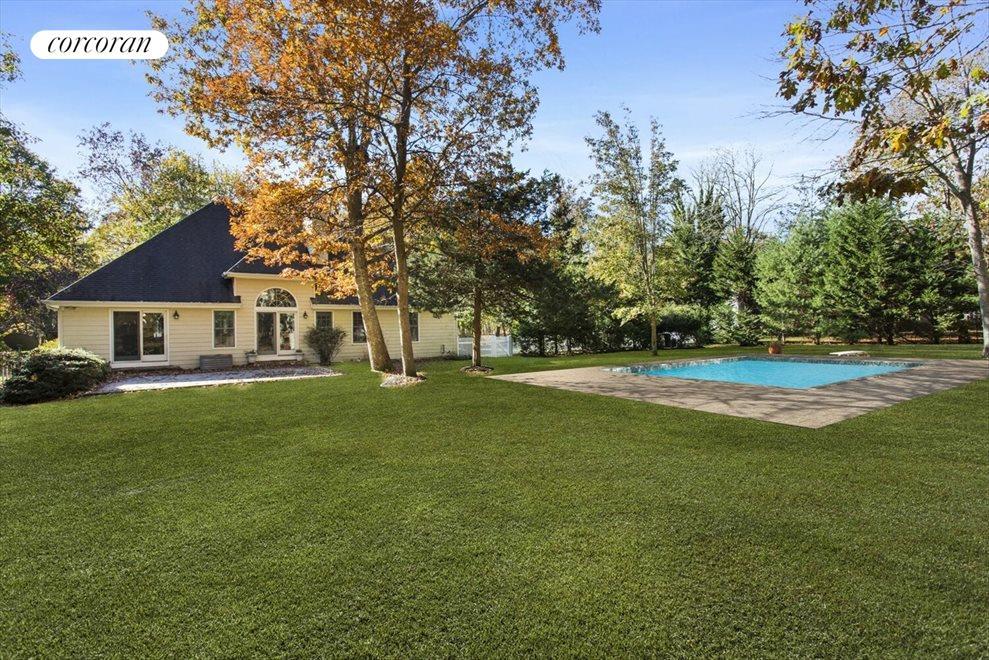 Backyard and Inground Pool