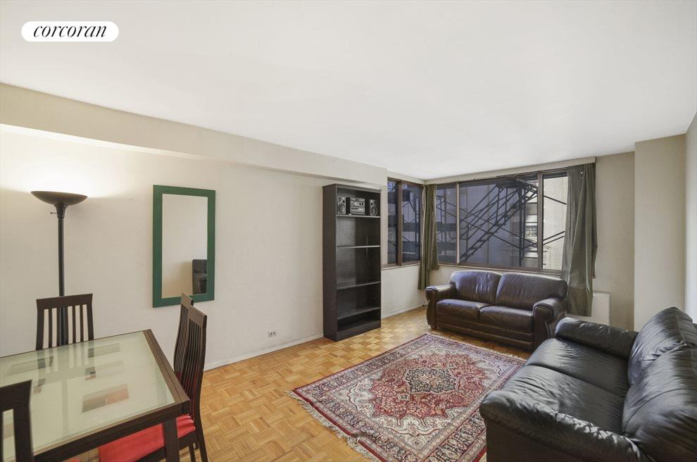 New York City Real Estate | View 350 West 50th Street, #5U | 1 Bed, 1 Bath