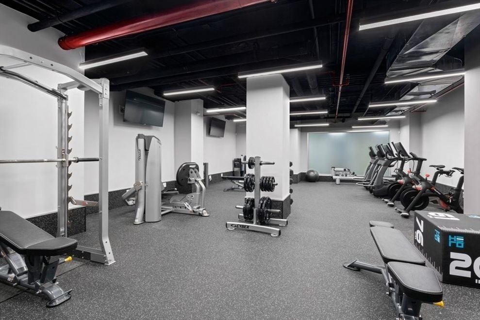 New York City Real Estate | View 250 East 49th Street, #18CD | Gym
