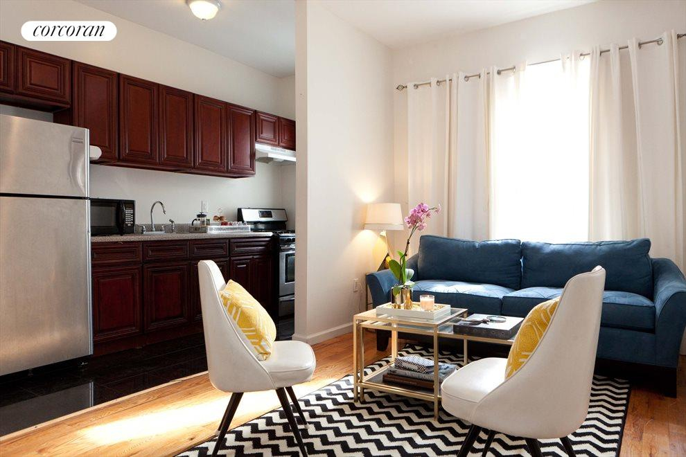 New York City Real Estate | View 1480 Fulton Street, #2 | 2 Beds, 1 Bath