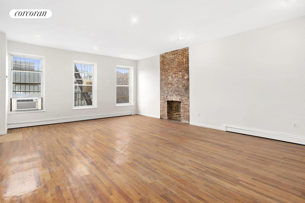 New York City Real Estate | View 647 Myrtle Avenue, #3 FL | 2 Beds, 1 Bath