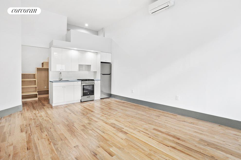 New York City Real Estate | View 647 Myrtle Avenue, #1 FL | Open Loft
