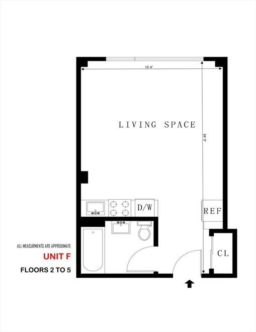 New York City Real Estate | View 631 East 18th Street, #3F | Floorplan