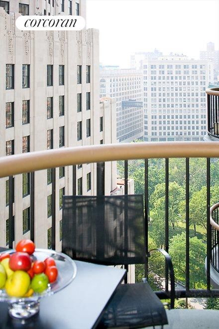 TWO BALCONIES!