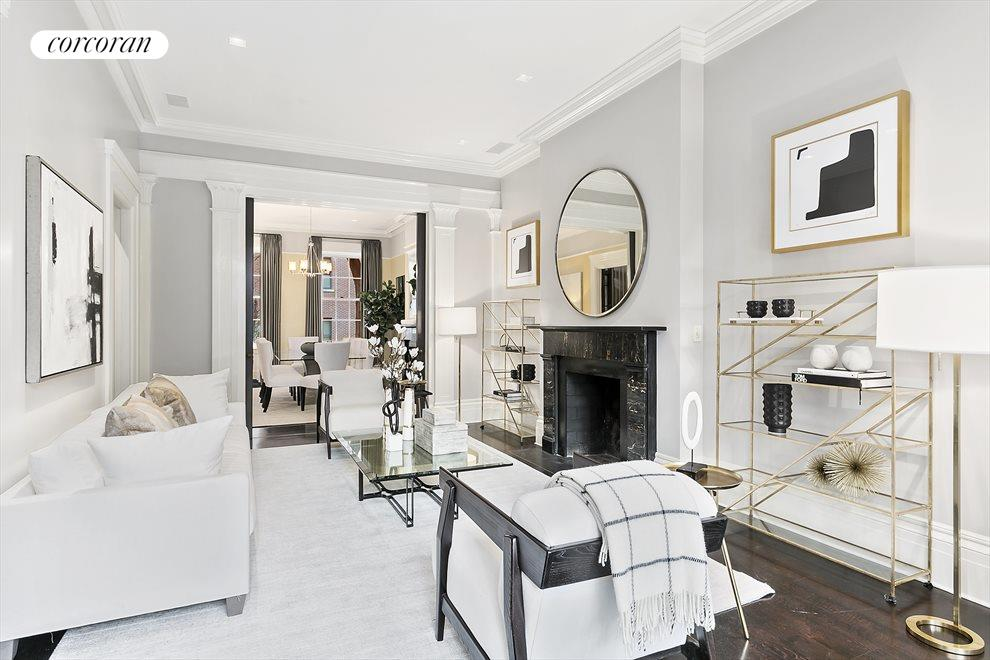 New York City Real Estate | View 157 West 12th Street | Living Room