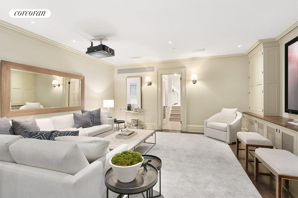 New York City Real Estate | View 157 West 12th Street | Screening Room