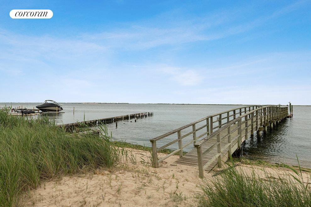 Sandy Beach & Dock