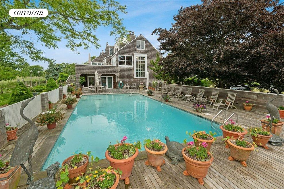 Gunite Pool Surrounded by Expansive Deck