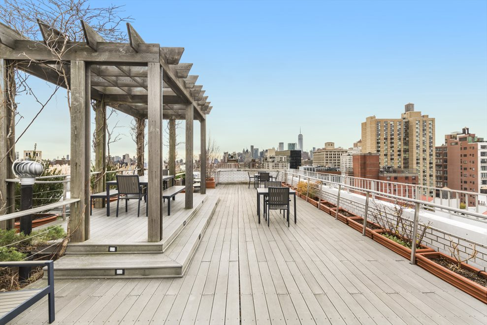 New York City Real Estate | View 111 Third Avenue, #8K | Roof Deck Gazebo