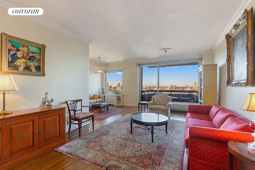 New York City Real Estate | View 45 East 89th Street, #27D | Living Room