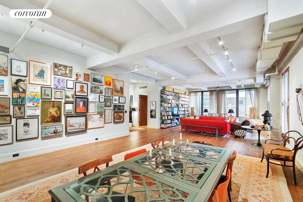 New York City Real Estate | View 142 West 26th Street, #9 FL | Great Room 42 x 30