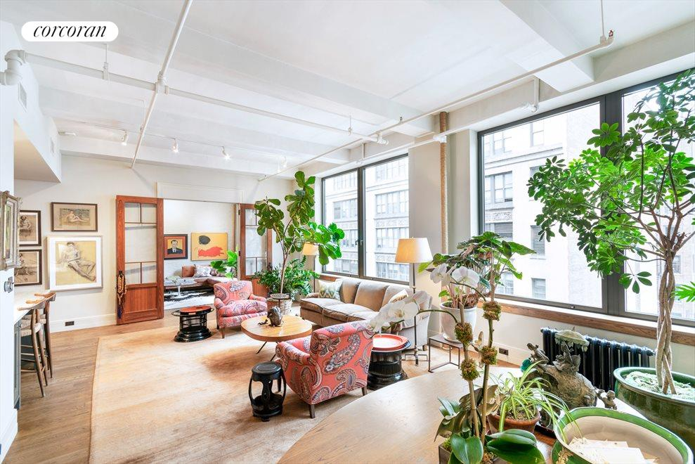 New York City Real Estate | View 142 West 26th Street, #9 FL | 4 Beds, 3 Baths
