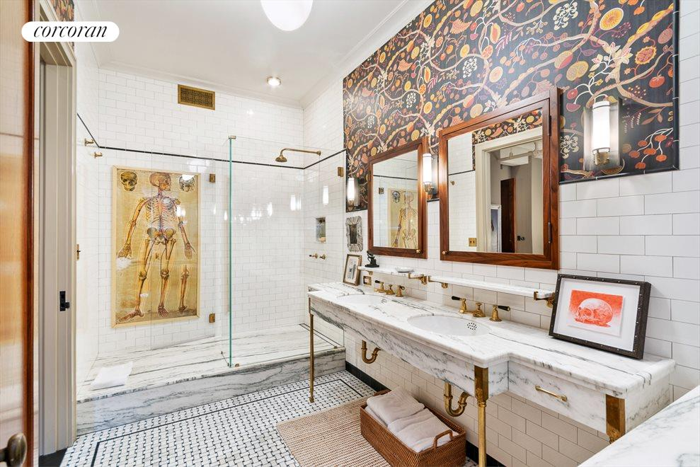 New York City Real Estate | View 142 West 26th Street, #9 FL | 5-fixture Master bath