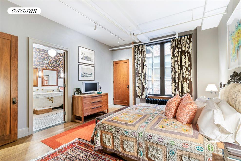 New York City Real Estate | View 142 West 26th Street, #9 FL | Master bedroom