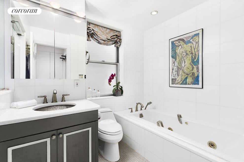 Windowed Master Bathroom