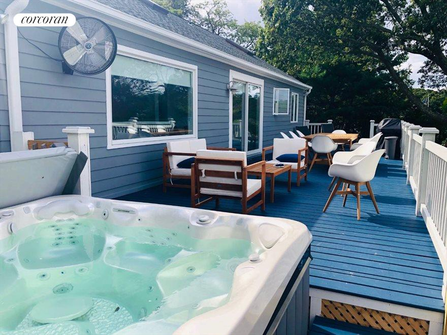 Waterside Salt Water Hot tub