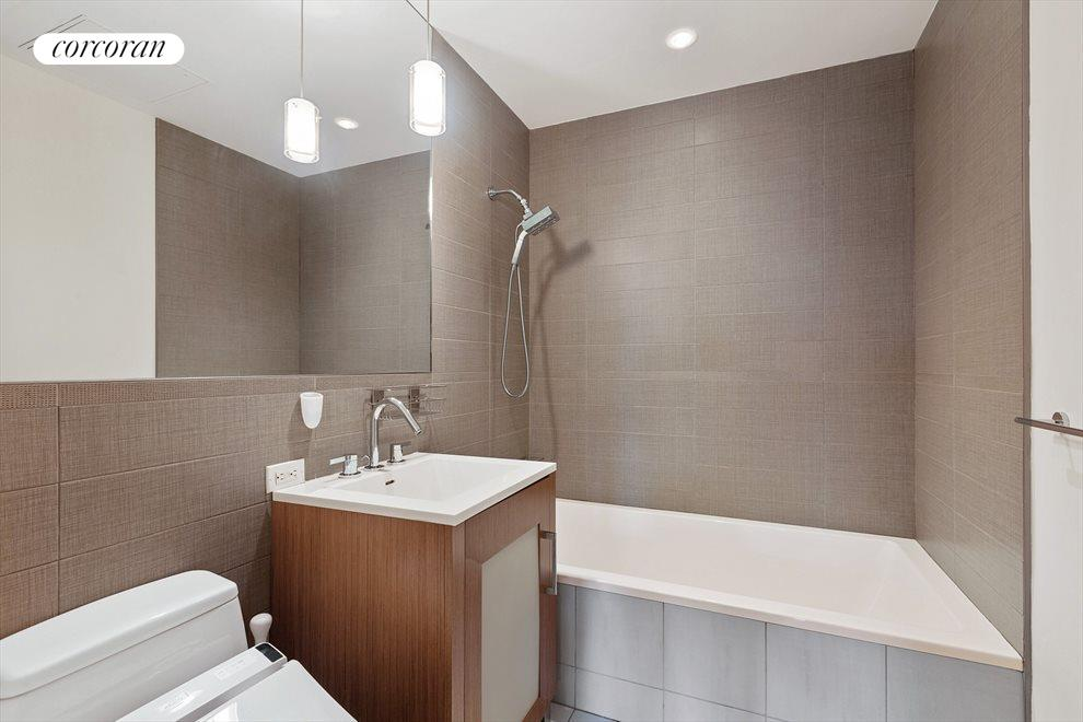 large second bath with soaking tub
