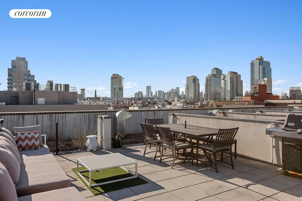 double wide private roof top cabana. sold separate