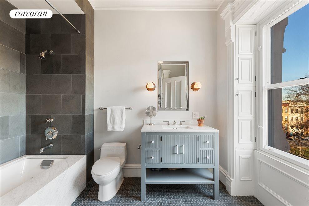 State of the art windowed baths