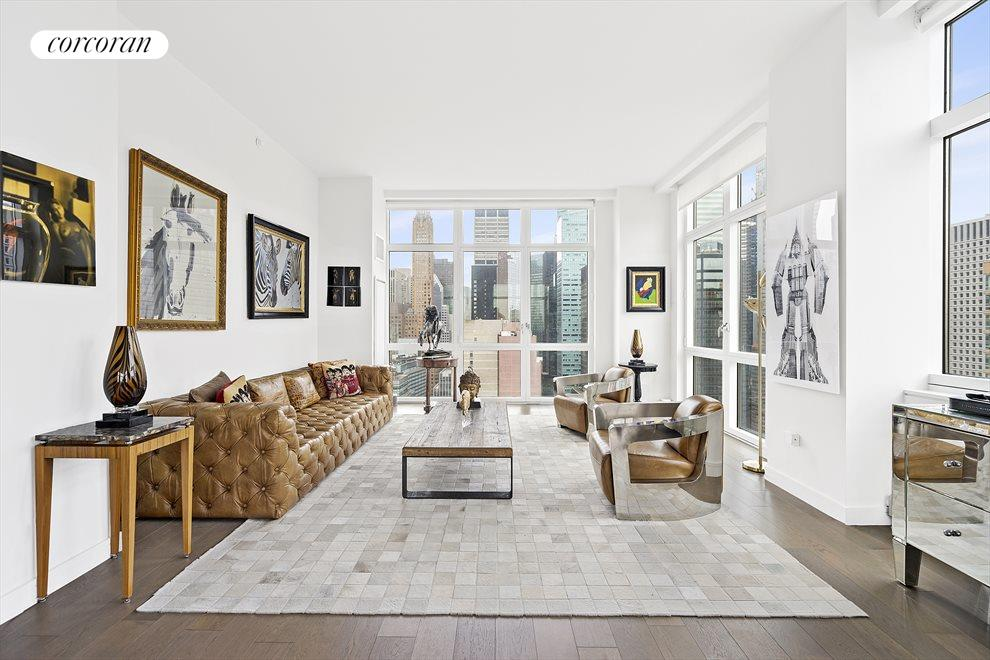 New York City Real Estate | View 305 East 51st Street, #26C | 3 Beds, 3 Baths