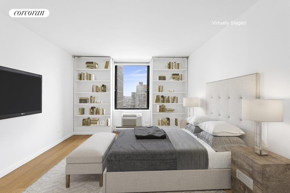 New York City Real Estate | View 1641 Third Avenue, #29H | Bedroom 2131final