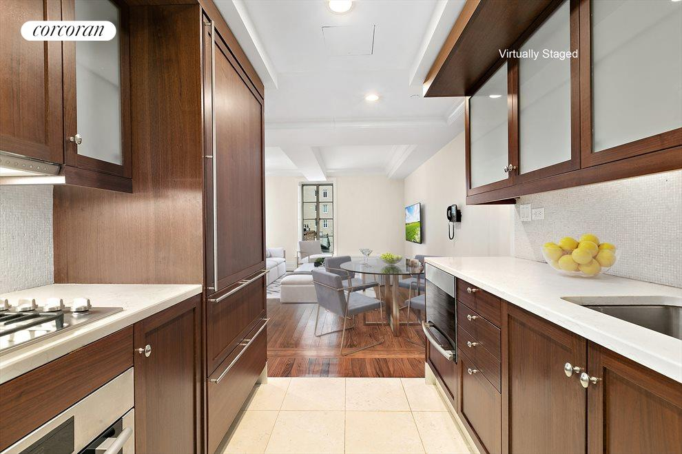 Gourmet Kitchen with Top-of-the-line Appliances