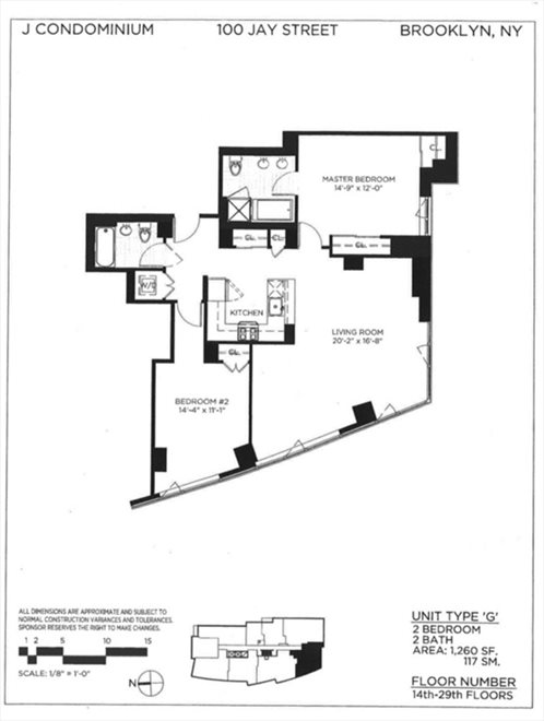 New York City Real Estate | View Jay Street | Floorplan 2